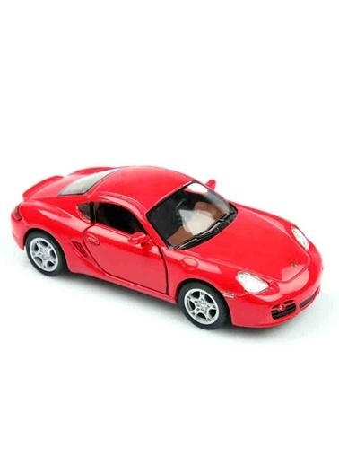 Kinsmart  Porsche Cayman S  1/34   Kırmızı
